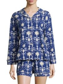 Damask Print Classic Shorty Pajama Set by BEDHEAD PAJAMAS at Gilt at Gilt