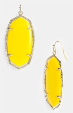 Danielle Oval Statement Earrings by Kendra Scott at Nordstrom