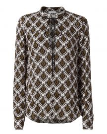 Danielle Woven Mombasa Blouse by ALC at Intermix