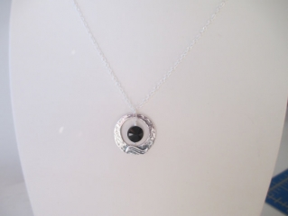 Dark Moon Necklace at Etsy