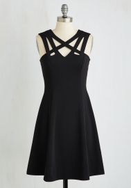 Darling of the Dance-a-thon Dress in Black at ModCloth