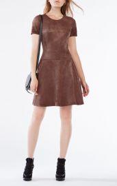 Darra Suede Dress at Bcbg