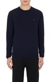 Dasher O Face Wool Sweater by Acne Studios at Barneys