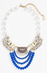 David Aubrey and39Claraand39 Jeweled Statement Necklace at Nordstrom