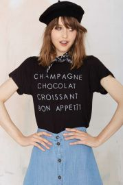 Daydreamer Bon Appetit Tee at Nasty Gal