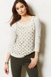 Dazzle Dot Sweatshirt at Anthropologie