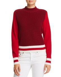 Dean Color-Block Merino Wool Sweater at Bloomingdales