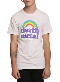 Death Metal Rainbow Tshirt at Hot Topic
