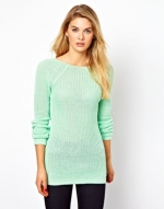 Deep Back Sweater by Vila at Asos