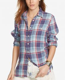 Denim   Supply Ralph Lauren Plaid Utility Shirt at Macys