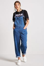 Denim Cami Overalls at Forever 21