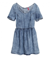 Denim Dress at H&M