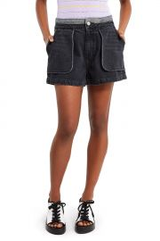 Denim Inside Out Shorts at Opening Ceremony
