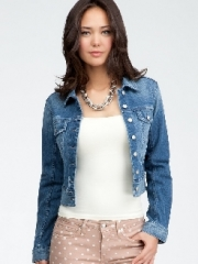 Denim Jacket at Bebe