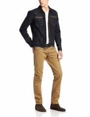 Denim Jacket by John Varvartos at Amazon