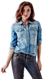Denim Shirt at Guess