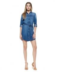Denim Shirtdress at Juicy Couture
