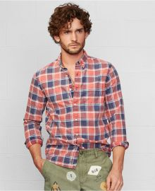 Denim Supply Ralph Lauren Remington Plaid Sport Shirt at Macys