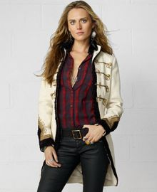Denim and Supply Ralph Lauren Coat Wool Military at Macys