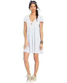Denim and Supply Ralph Lauren Floral-Print Button-Front Dress at Macys