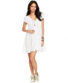 Denim and Supply Ralph Lauren Floral-Print V-Neck Dress at Macys