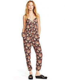 Denim and Supply Ralph Lauren FloralPrint Racerback Jumpsuit at Macys