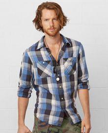 Denim and Supply Ralph Lauren Plaid Flannel Shirt - Casual Button-Down Shirts - Men - Macys at Macys