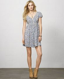 Denim and Supply Ralph Lauren Short-Sleeve Floral-Print Dress at Macys