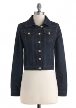 Denim jacket at Modcloth at Modcloth