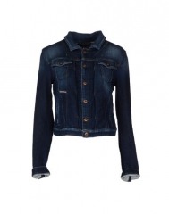Denim jacket by Diesel at Yoox