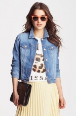 Denim jacket by J Brand at Nordstrom