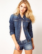 Denim jacket by Miss Sixty at Asos