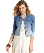 Denim ombre jacket by Jessica Simpson at Macys