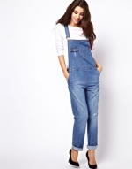 Denim overalls at ASOS at Asos