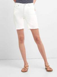Denim shorts at Gap