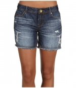 Denim shorts by Mek Dnim at 6pm