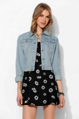 Denim trucker jacket at Urban Outfitters