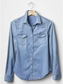 Denim western shirt at Gap