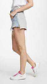 Denim x  Alexander Wang Hybrid Bite Shorts at Shopbop
