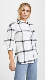 Derek Lam 10 Crosby Buttondown Shirt with Lace Up Back at Shopbop