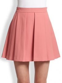 Derek Lam 10 Crosby - Box-Pleat Skirt at Saks Fifth Avenue
