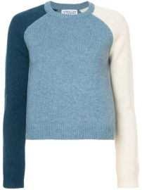 Derek Lam 10 Crosby Colorblocked Sleeve Sweater  275 - Buy Online - Mobile Friendly  Fast Delivery  Price at Farfetch