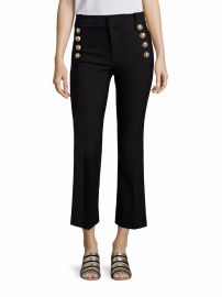 Derek Lam 10 Crosby Cropped Flared Sailor Trousers at Saks Fifth Avenue