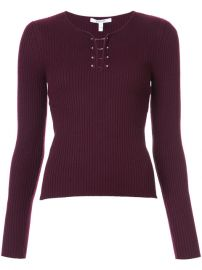 Derek Lam 10 Crosby Long Sleeve Pullover With Barbells  325 - Buy AW17 Online - Price at Farfetch