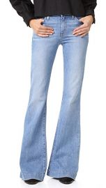 Derek Lam 10 Crosby Noha Mid Rise Sexy Flare Jeans at Shopbop