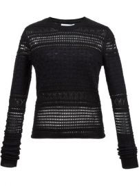 Derek Lam 10 Crosby Perforated Sweater at Farfetch