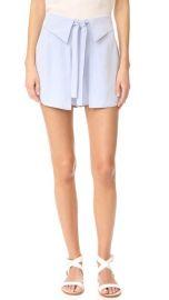 Derek Lam 10 Crosby Wrap Front Shorts at Shopbop