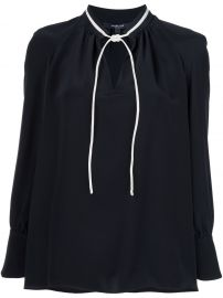 Derek Lam Long Sleeve Blouse With Front Ties at Farfetch