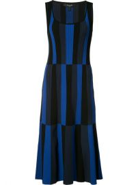Derek Lam Striped Scoop Neck Dress at Farfetch