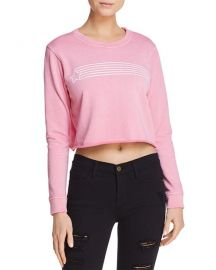 Desert Dreamer Star Streak Cropped Sweatshirt at Bloomingdales